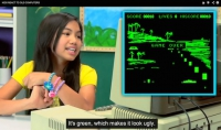 kids react to old computer