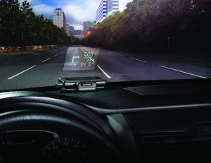 Garmin Head up Display - Augmented Reality Navigation